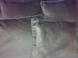 cushions with pads