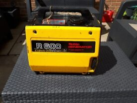 HONDA TYPE 4 STROKE SILENT SUITCASE GENERATOR FOR SALE.