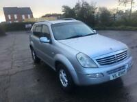 SSANGYONG REXTON 2.7 CDI 7 SEATER FULL LEATHER