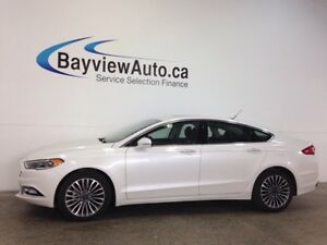 2017 Ford FUSION SE- AWD! REM START! ROOF! LEATHER! NAV!