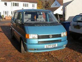 VW Camper 1994 2.5 Petrol Blue