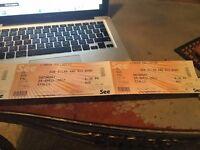 Bob Dylan @ London Palladium Stalls Block N 3 tickets NB:WE ARE IN LONDON ALL WEEK