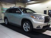 2015 Toyota Highlander Limited CUIR TOIT PANO 7 PASSAGERS