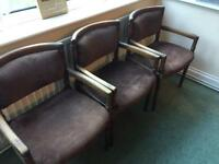Wooden chairs six