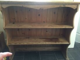 Beautiful shaped Dresser Top, perfect for a project.