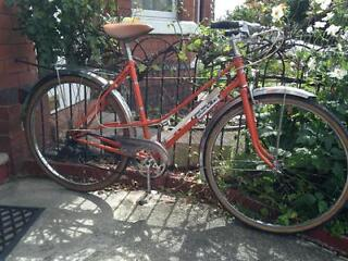 Beautiful 1970's woman's town bike for sale