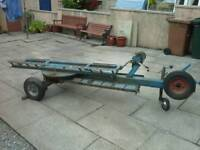 Car spec dolly recovery trailer