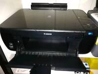 Excellent condition Canon wifi MP493 Printer with full carterbridge Replacement.