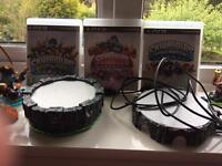 Skylanders figures games portals £50