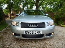 AUDI A3 3.2 V6 MANUAL, FULL RED LEATHER HEATED SEATS, 6 CD CHANGER, VERY CLEAN & FAST R32 S3