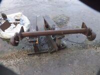 boat trailer axle