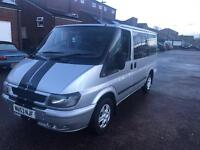 2004 53reg Ford Transit Tourneo 2.0 Tdci 9 Seater Mini Bus Silver Jan mot