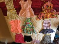 Girls 18 - 24 month dresses, 1 BNWT, 4 BNWOT, rest worn few times