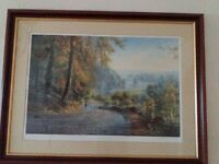 Framed Rex Preston Limited Edition Signed Print
