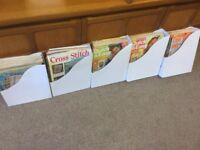 Over 65 Vintage CROSS STITCH Magazines from the 1990s. Sale or Swap.