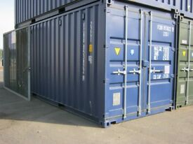 NEW One Trip 20ft Shipping Container's FOR SALE - ONLY £2150+VAT - site store portable cabin shed