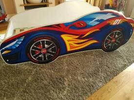 Toddler's Racing Car Bed