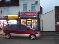 Chicken Shop For Sale in Dartford Town Centre