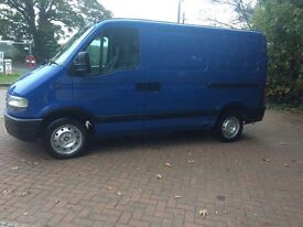 2004 Nissan Interstar low mileage, great runner, like Fiat Ducato, peugeot boxer, Ford transit