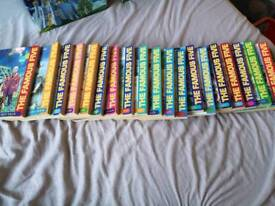 All of the famous five books