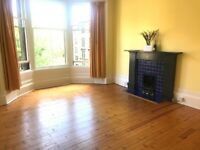 Lovely spacious unfurnished West End Glasgow flat