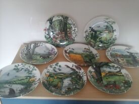 Colin Newman Country Panorama Collectors Plates