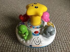 Vtech Spin and Discover Ocean Fun Spinning Top with Lights & Sounds - Excellent Condition