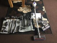 Dyson v6 flex in ex working condition with lots of ex attachments