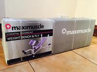 Maximuscle Weight Bench and Fly - completely BRAND NEW!
