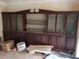 Bespoke Dining room cabinet by J.H. Mathews Cove Workshop of Islandmagee, £750 ono