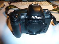 Digital Nikon D 100 ,Nikon zoom 35-70mm f3.3-4.5 Nikon Speed SB-50DX Flash light for Nikon D 100
