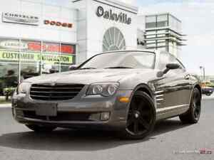 2004 Chrysler Crossfire | HEATED RED LEATHER | AMAZING SHAPE |