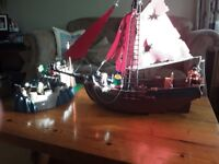 Playmobil Pirate Ship and fort