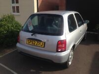 12 months mot November 2018 cheap and reliable 2002 52 Nissan Micra 1.0 runs and drives nice
