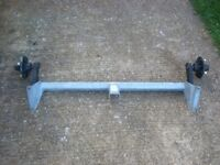 CAMPING TRAILER AXLE