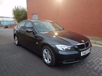 2008 BMW 320D SE AUTOMATIC,2 FORMER KEEPERS,105K ONLY,MOT MARCH 2017TH,07549508197