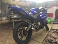 Yamaha yzf r125 £1300
