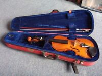 Stentor II 3/4 student violin with carry case