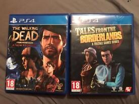 Telltale game TWD new frontier/borderland