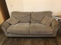 Sofa and armchair free to collect