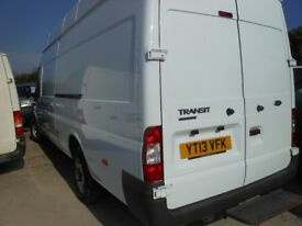 FORD TRansit TCi 125PS Highroof Jumbo Panel Van, 2.2 Diesel,3 Seats, 156,000 miles * REDUCED*