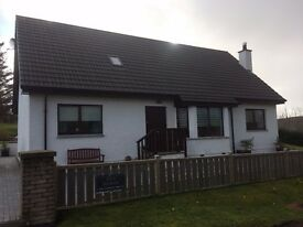 4 Bedroom ( 2 en suite ) detached house for sale in Isle Of Skye , ( Kensaleyre Park )