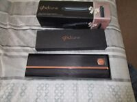 GHD Curve Wand With Limited Edition Rose Gold Roll Bag