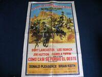 Film Poster ( translation) The Hallelujah Trail (1965)