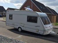 5 berth Abbey Kelso caravan