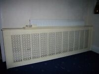 Large Radiator Cover For Sale With Wall Brackets