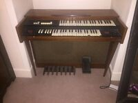 Farfisa electric organ for collection only