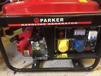Parker gasoline generator brand new