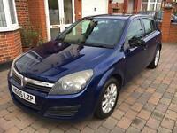Vauxhall Astra 2005 Automatic 1.8 Petrol Blue 5 Door Alloys Long MOT