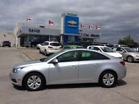 2014 Chevrolet Cruze 1LT, R.CAM, R.START, MYLINK, LOW KM'S!